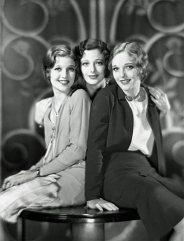 Loretta Young and her sisters