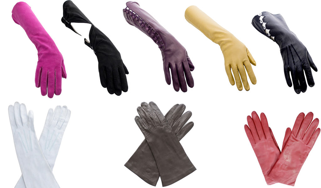 Leather Vintage Gloves