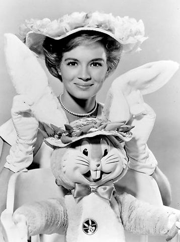 Angie Dickinson Easter Vintage Photograph