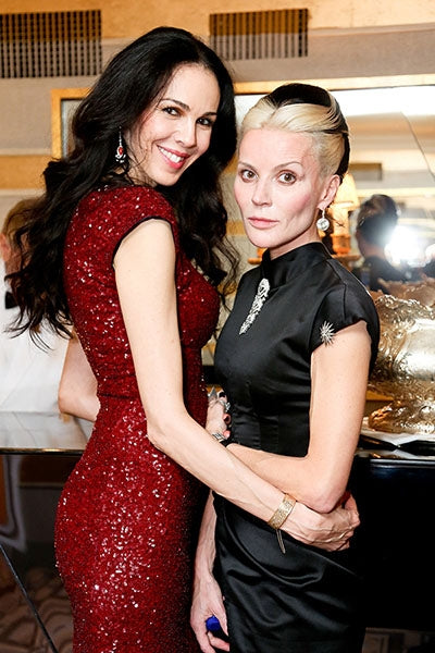 With Daphne Guinness