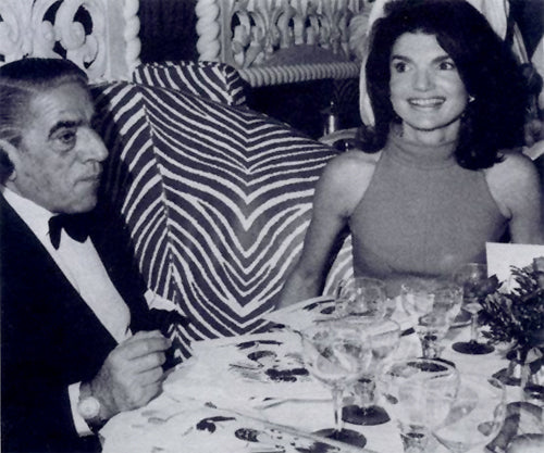 Aristotle and Jackie Onassis