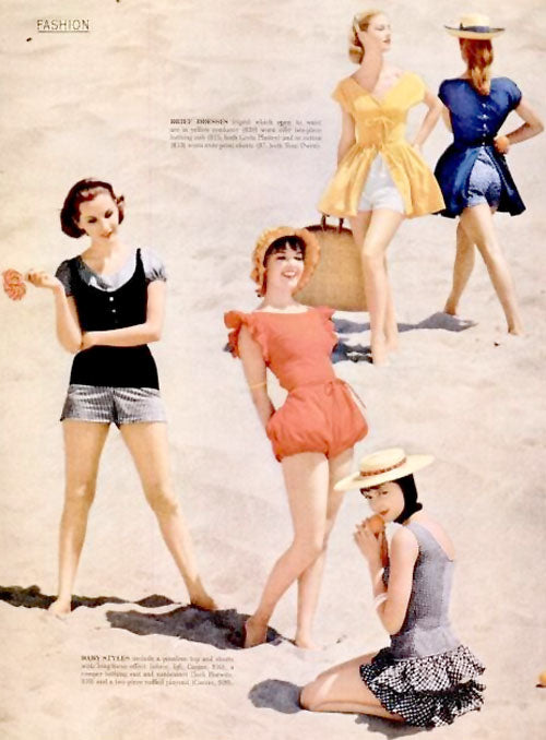 1956 LIFE magazine swimwear fashions