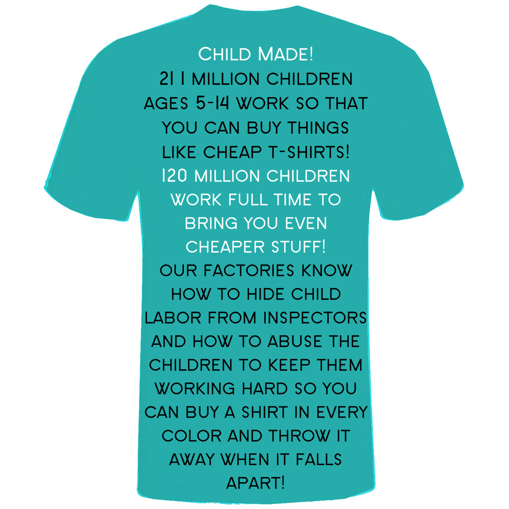 Child labor keeps children from getting an education and can be harmful to their physical and mental health.