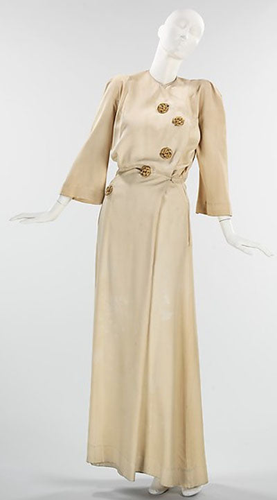 Charles James silk Hostess gown from 1941 - Metropolitan Museum of Art costume institute