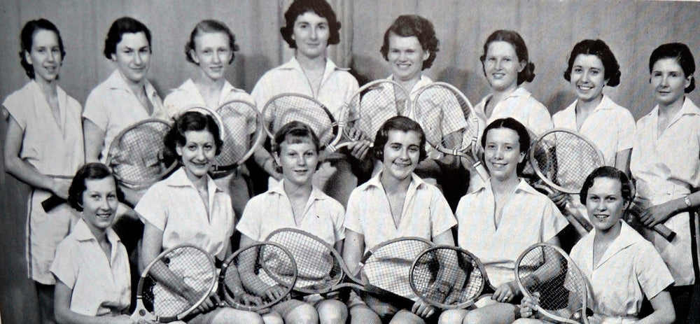 Girl's tennis club 1930's