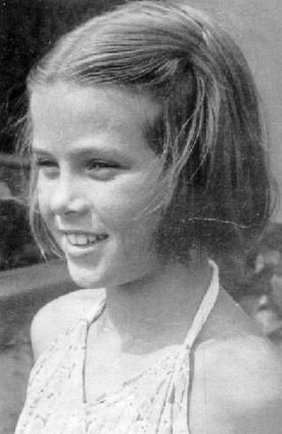 Grace Kelly as a young girl