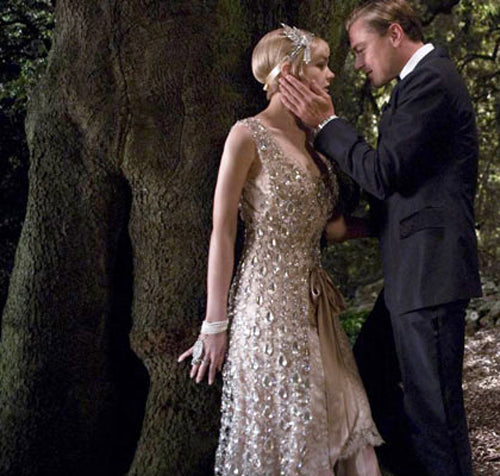 The stars of The Great GatsbyLeonardo Dicaprio and Carey Mulligan in Catherine Martin's' gorgeous costumes