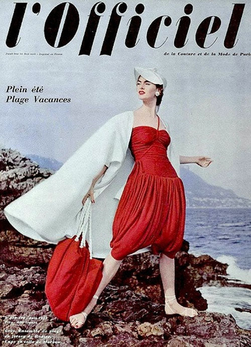 Madame Gres June 1953 L'Offficiel Paris