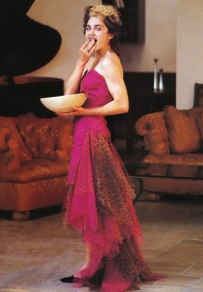 Madonna in Patrick Kelly