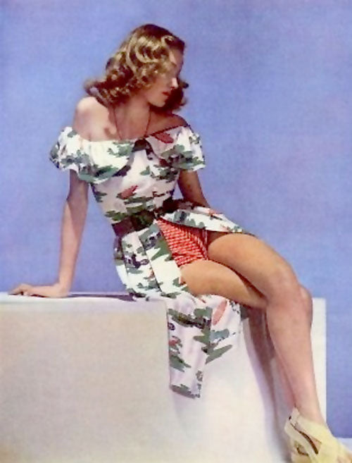 1946 Carven playsuit ensemble