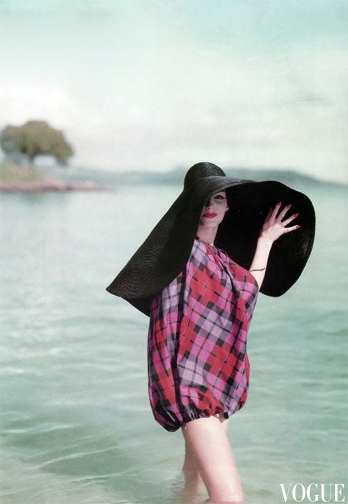 Joanna McCormick photographed in the Virgin Islands by Richard Rutledge for Vogue-1957