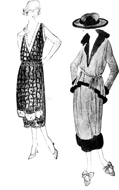 1918 Chanel Illustration