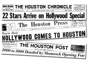 1949 opening of Shamrock Hotel Houston