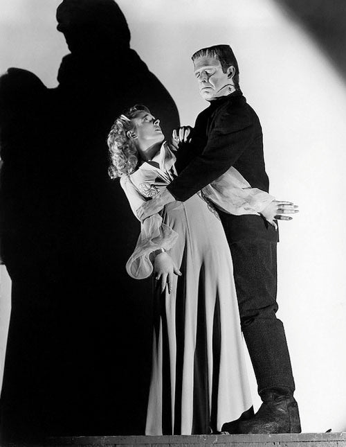 Evelyn Ankers and Lon Chaney in The Ghost of Frankenstein 1942
