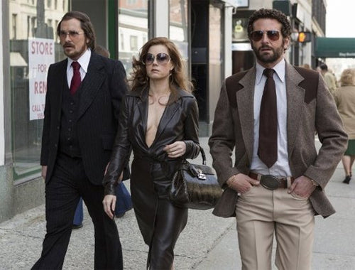 Michael Wilkinson Costumes in the 1970's fashion filled film American Hustle
