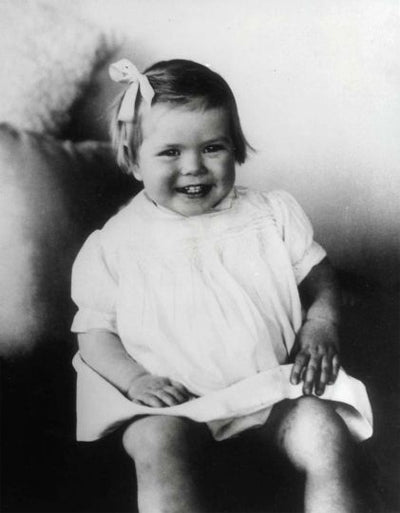 2 year old Grace Kelly