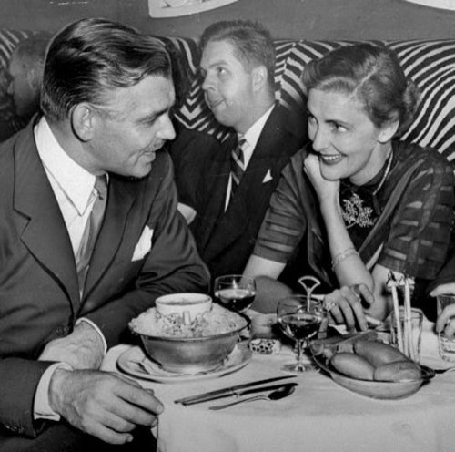Clark Gable and Nancy Hawks