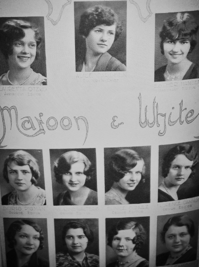 Vintage College Women's club