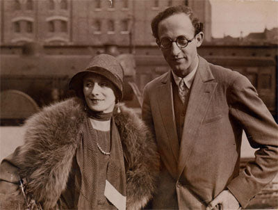 Anna Pavlova with ballet musical director Theodore-Stier