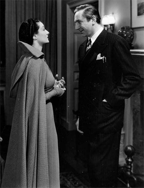 Gloria Holden and Otto Kruger in Dracula's Daughter 1936