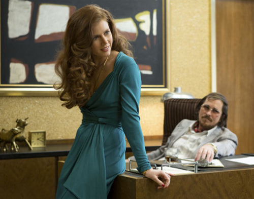 Michael Wilkinson's 1970s fashions in American Hustle are nominated for an Oscar