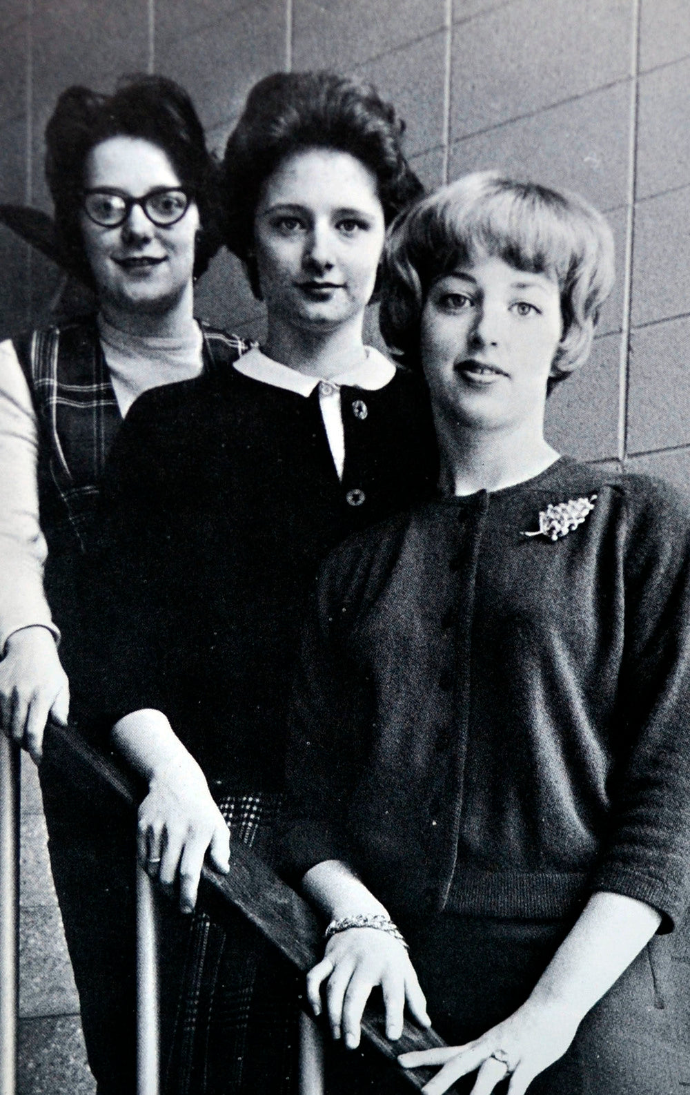 1960's yearbook staff