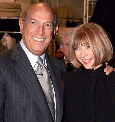 Oscar with Anna Wintour