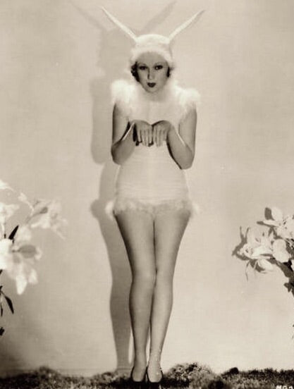 1930's vintage Easter photo - actress Dorothy Gordon