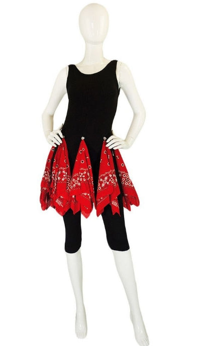 Patrick Kelly Bandanna dress