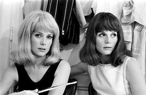 Catherine Deneuve and sister