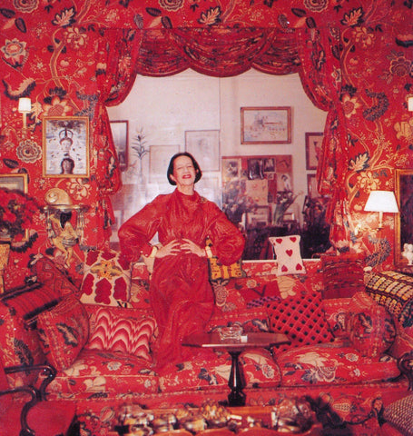 Diana Vreeland Billy Baldwin Red Room