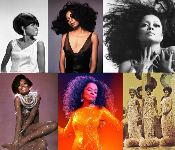 Diana Ross Vintage Natural Hairstyles and Wigs