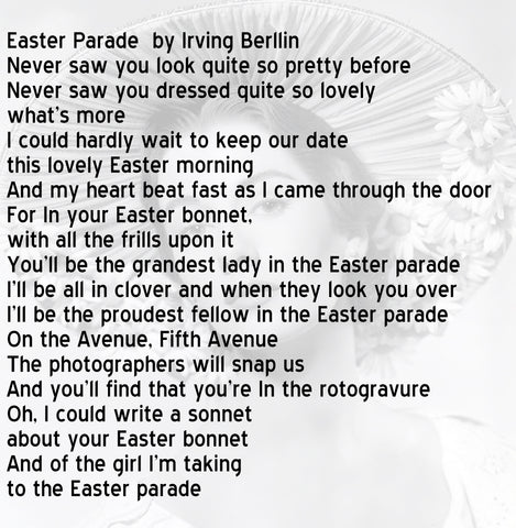 Irving Berlin Easter Bonnet