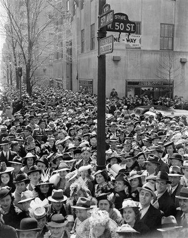Easter Hats at the New York City Easter Parade