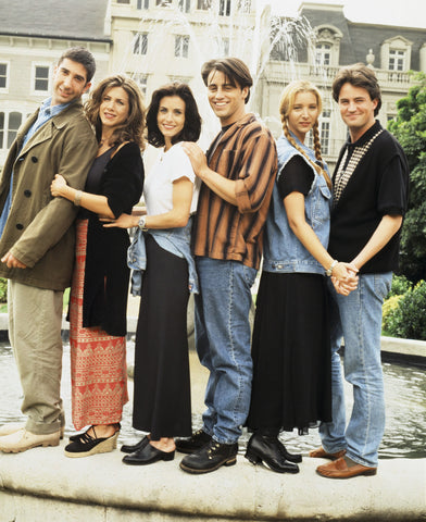Friends Vintage 1990s fashion 90s style