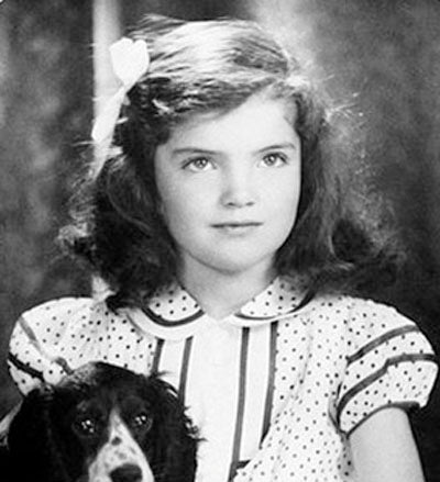 Jackie Bouvier Young Girl