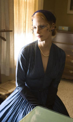 Jessica Chastain in Tree of Life styled by Dressing Vintage