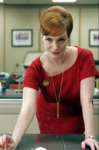 Joan - Season 1 Mad Men Red Dress