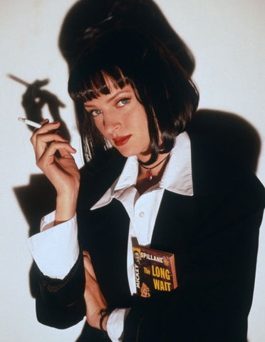 Uma Thurman Pulp Fiction 1990s fashion