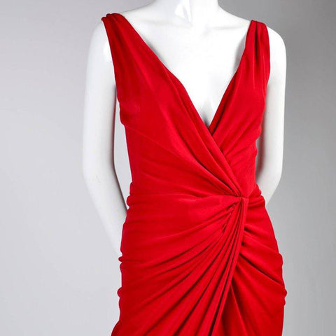 Red Randolph Duke Evening Gown