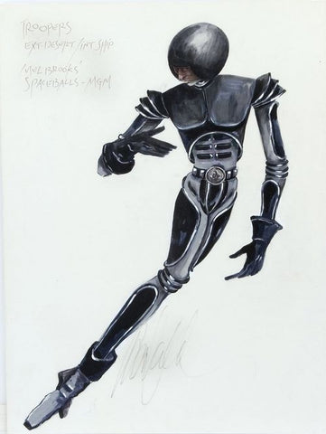 Spaceballs Fashion illustration Donfeld