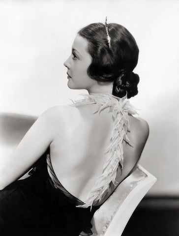 Sylvia Sidney in a Howard Greer dress from The Thirty Day Princess 1934