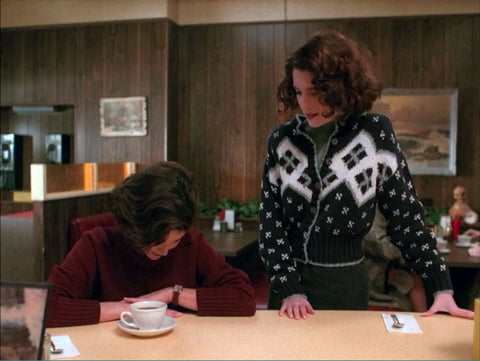 Twin Peaks fashion 90s style