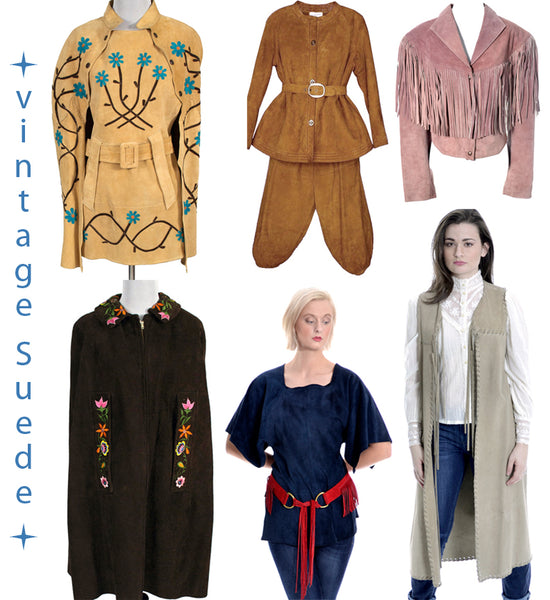 Vintage Suede Clothing at Dressing Vintage