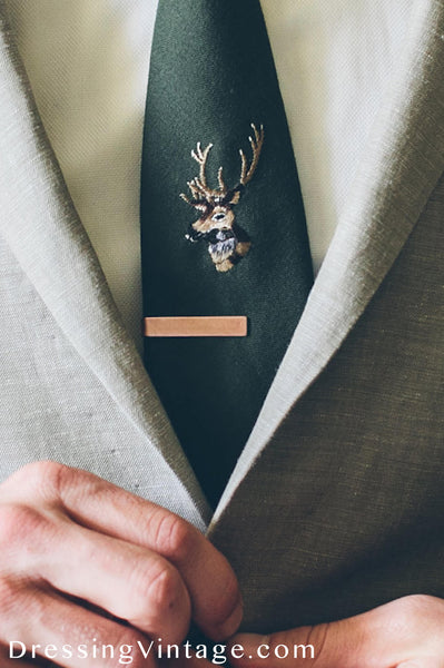 Vintage Ties as a groomsman gift
