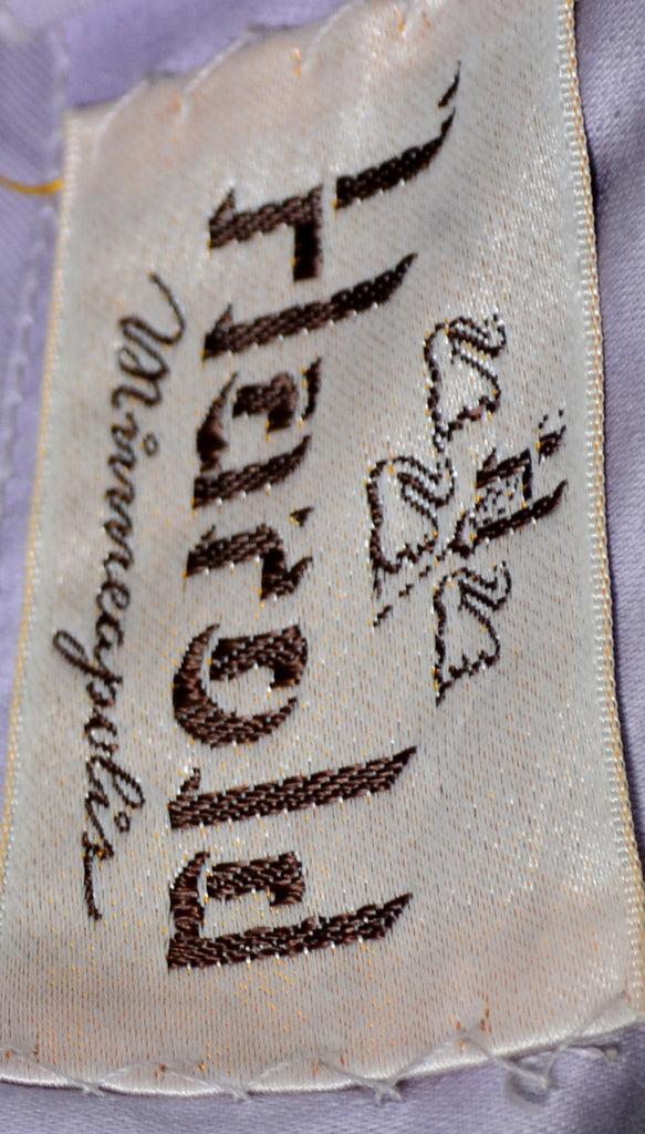 Harold Minneapolis vintage purple embroidered cocktail dress