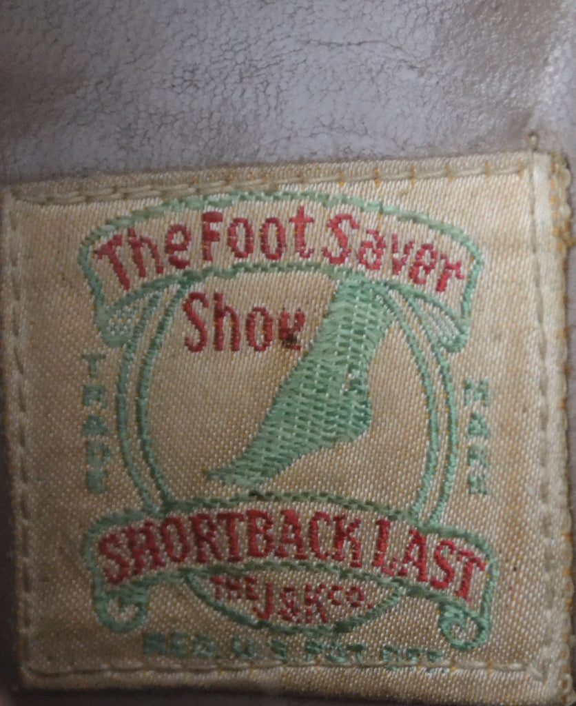 Vintage Foot Saver Shoe 1930s