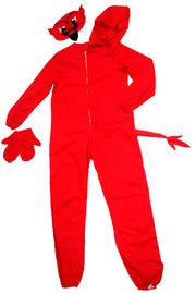 1940s vintage Red Devil Childs Halloween Costume