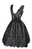 Rare Christian Dior Boutique Numbered 1950s Lace Dress