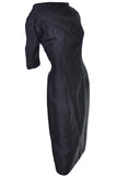 Suzy Perette Vintage Dress Black Silk